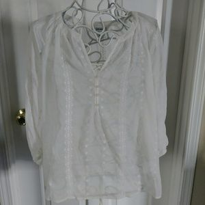 Pretty sheer Old Navy tunic